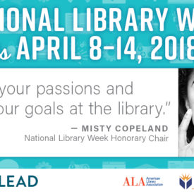 Misty Copeland says let's go to the Library!