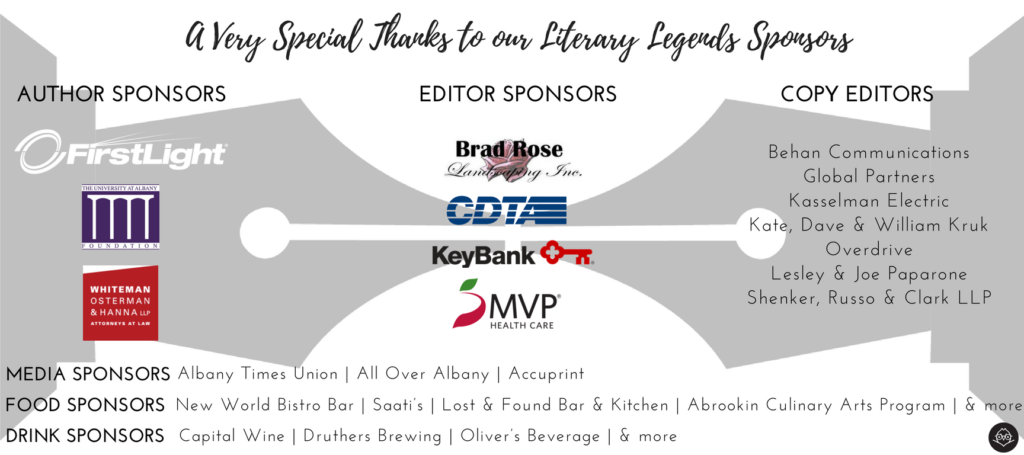 LIterary Legends Invitation - Sponsor Panel