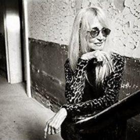 Lyn Lifshin wearing sunglasses
