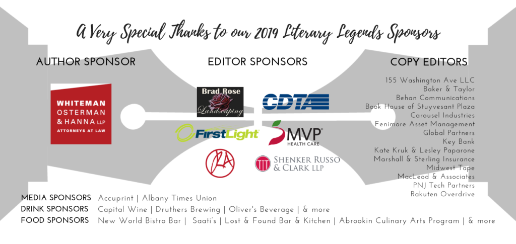 Literary Legends Sponsors